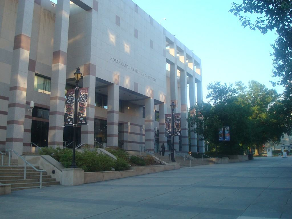 The North Carolina Museum of History in Downtown Raleigh