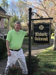 The Historic Oakwood neighborhood in Downtown Raleigh, N.C.
